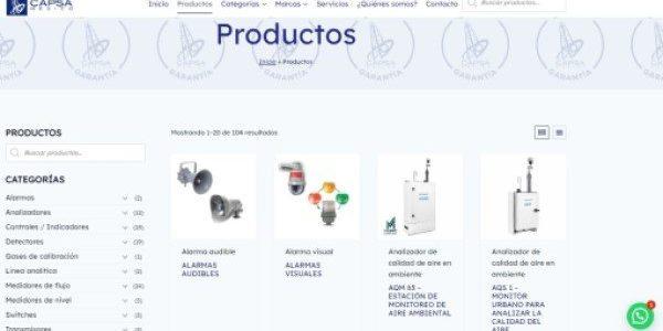 Páginas Web, Tienda en Línea, Redes Sociales, SEO, Mantenimiento Web - CAPSA